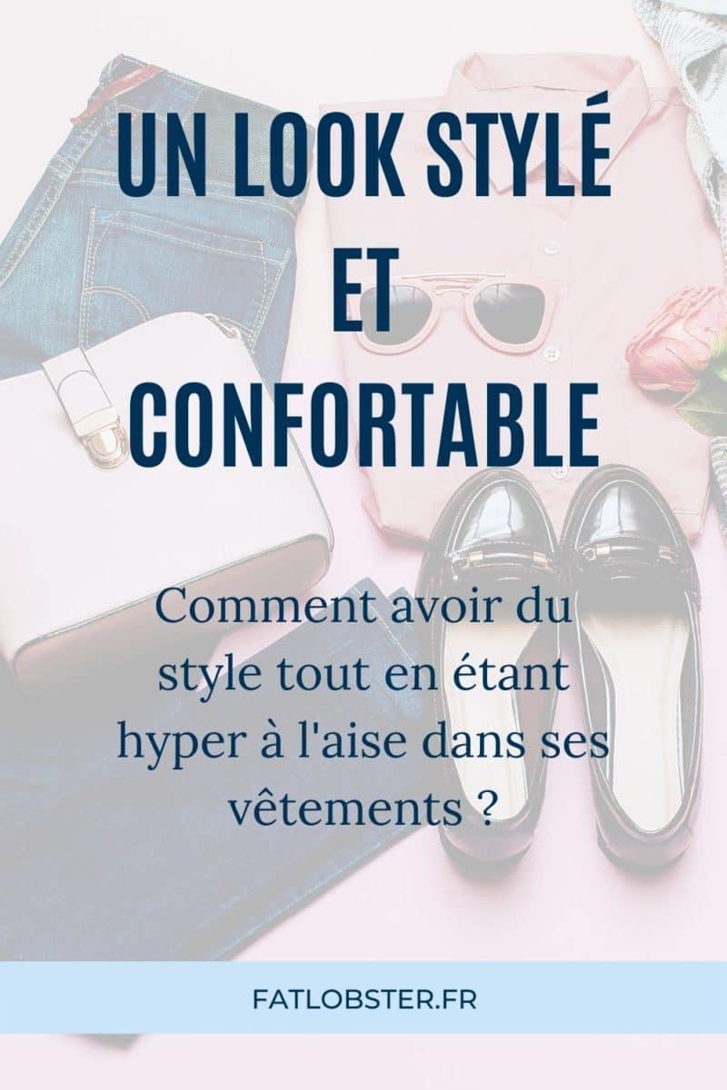 Avoir du style avec des vêtements confortables.