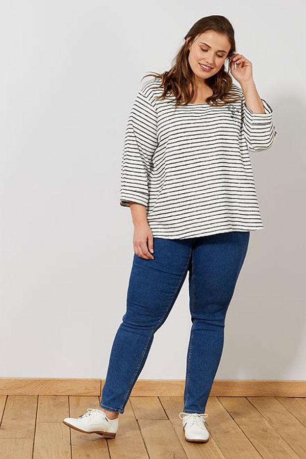 Mode femme ronde : jean skinny