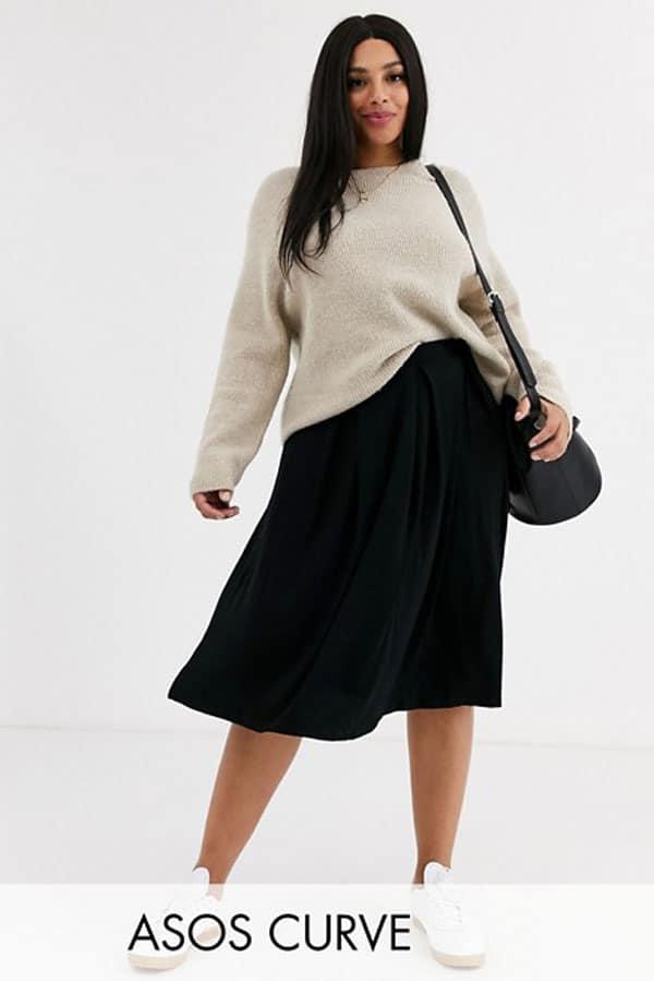 jupe-noire-grande-taille