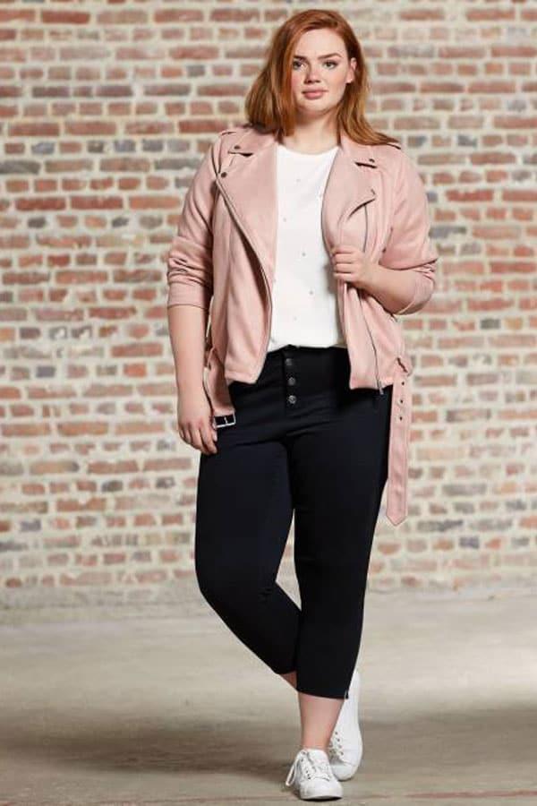 Mode femme ronde : pantacourt