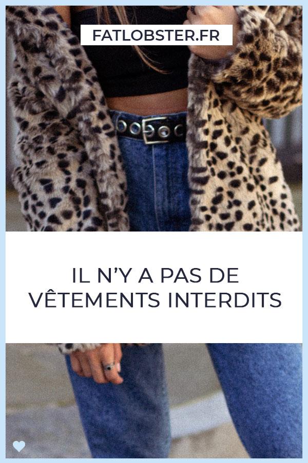 Il n'y a pas de vêtements interdits selon sa morphologie ! Comment trouver son style ?