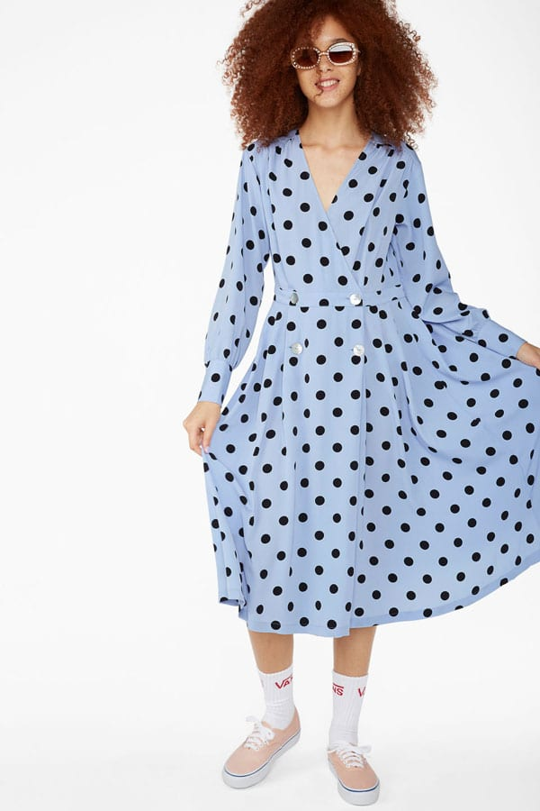 Robe à pois Monki