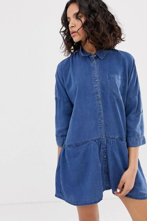 Mode printemps : robe jean
