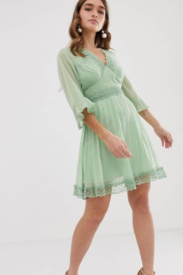 Tenue de mariage : Robe vert menthe ASOS