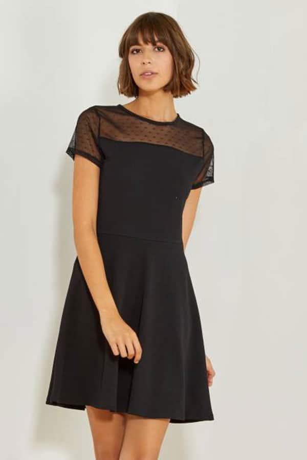 Tenue de mariage : Petite robe noire Kiabi