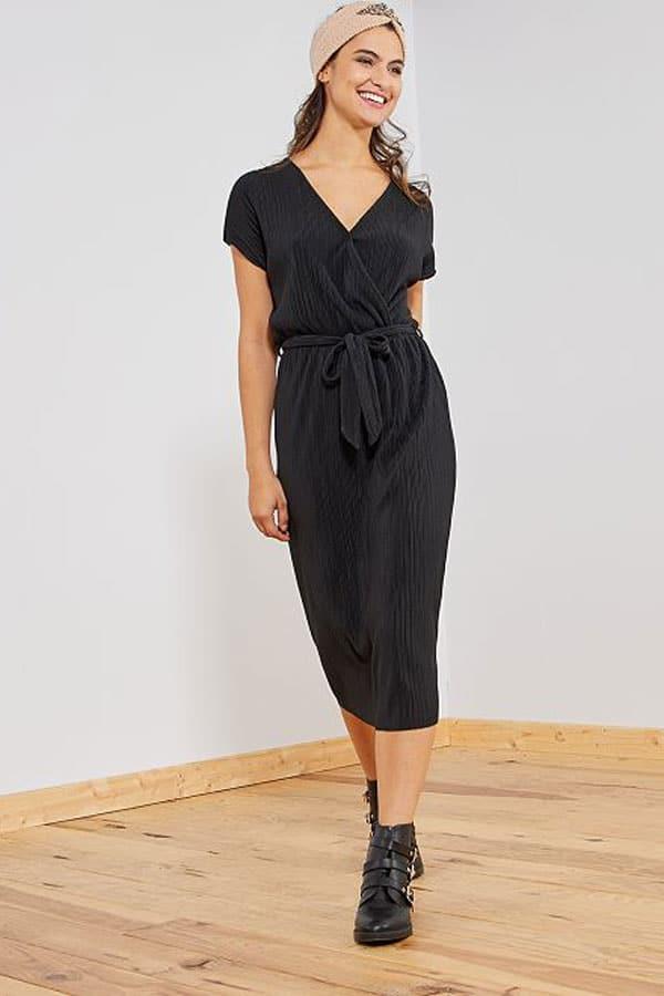 Mode printemps : robe noire