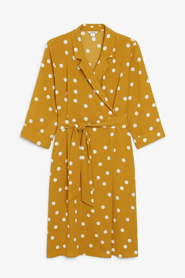 Robe portefeuille Monki